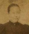 Anne Marie Augusta Andr� vers 1897 - Ile d'Yeu