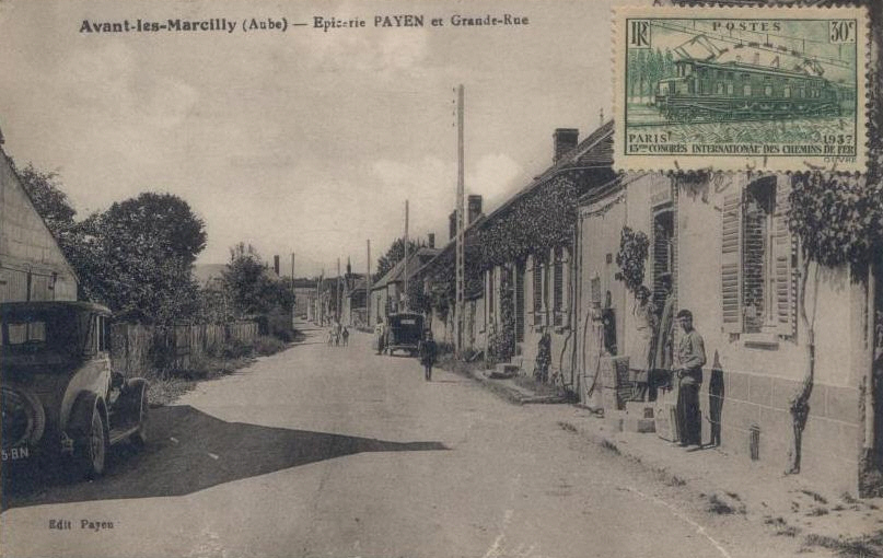Avant les Marcilly  : Grand Rue