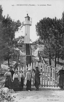 Fromentine : Le Phare vers 1910