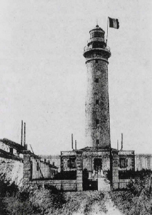 Ile d'Yeu :  L' ancien  Grand Phare avant 1944