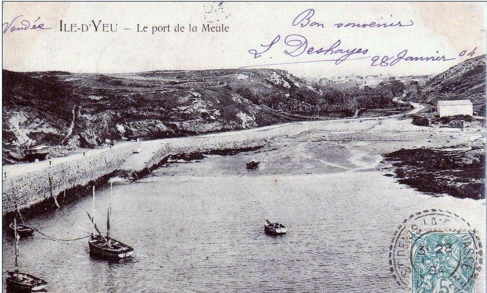 Ile d 39 yeu photos anciennes page 1 - Restaurant port de la meule ile d yeu ...