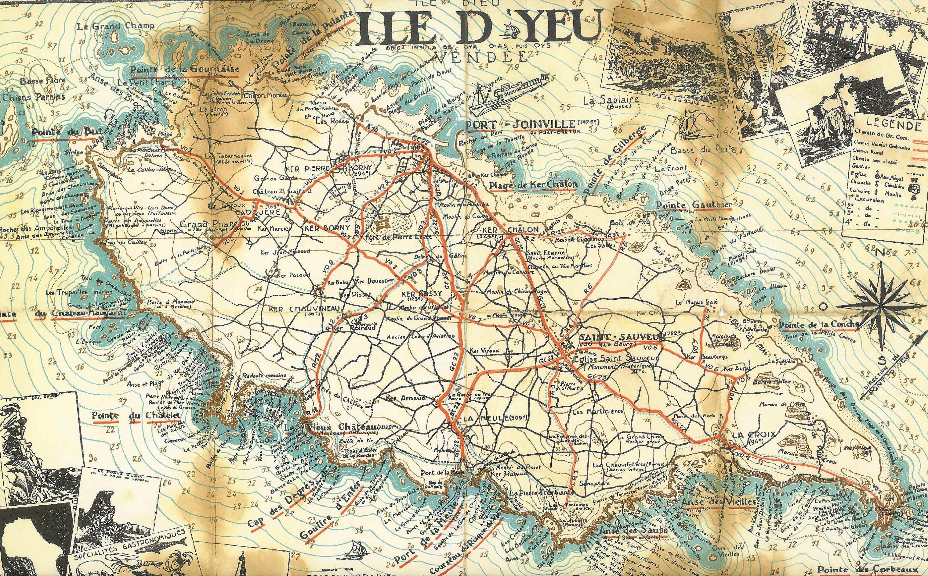 Histoire du vieux ch teau de l 39 le d 39 yeu invitation pour balade d couverte et histoire c - Office notarial ile d yeu ...