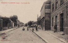 Marcilly le Hayer : La Grand Rue