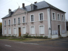 Marcilly le Hayer : La Mairie - 2008 - Photo JLB