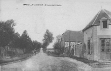 Marcilly le Hayer : Route de Villadin