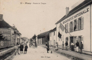 Piney : Route de Troyes
