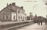 Piney : la gare