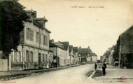 Piney : Rue de la Halle